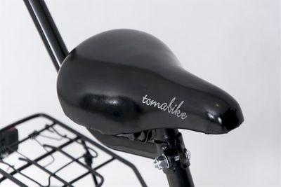 "Kinderfahrrad 14 Zoll ""Tomabike Platinum"" Blue inkl. Fahrradkorb u. Stützrädern – Bild 4"