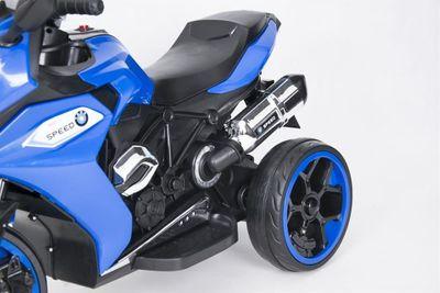 Kindermotorrad Speed Racer Blue Trike 6V  Kinderfahrzeug elektrisch Elektromotorrad – Bild 2