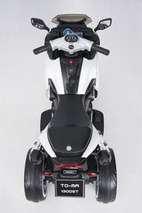 Kindermotorrad Speed Racer White Trike 6V  Kinderfahrzeug elektrisch Elektromotorrad – Bild 9