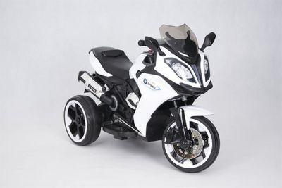 Kindermotorrad Speed Racer White Trike 6V  Kinderfahrzeug elektrisch Elektromotorrad – Bild 7