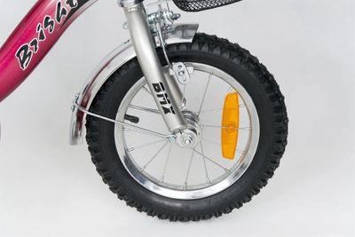 Kinderfahrrad 12 Zoll Speedy Red inkl. Fahrradkorb u. Stützrädern – Bild 9