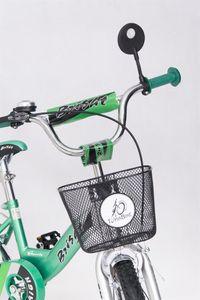 Kinderfahrrad 12 Zoll Speedy Green inkl. Fahrradkorb u. Stützrädern – Bild 7