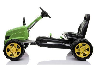 Go Kart Traktor Bulldog Tretfahrzeug Go Cart Green – Bild 3