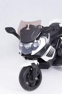 Kindermotorrad K1200 Supersport Elektromotorrad 6V white Kinderfahrzeug elektrisch – Bild 8