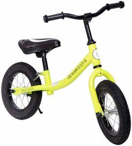 "Laufrad 12 Zoll ""Dream Bike"" Green/Black Cross Country Runbike – Bild 1"