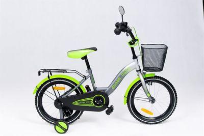 Kinderfahrrad 16 Zoll Dreambike Platinum Special Edition inkl. Fahrradkorb u. Stützrädern – Bild 2