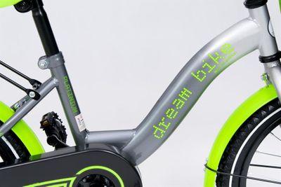 Kinderfahrrad 16 Zoll Dreambike Platinum Special Edition inkl. Fahrradkorb u. Stützrädern – Bild 7