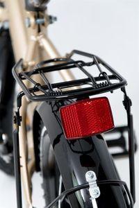 "Kinderfahrrad 12 Zoll ""Tomabike Platinum"" Gold/Black inkl. Fahrradkorb u. Stützrädern – Bild 9"