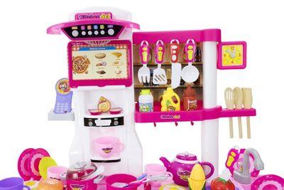 Multifunktionelle Kinderküche mit viel Zubehör und Funktionen – Bild 9
