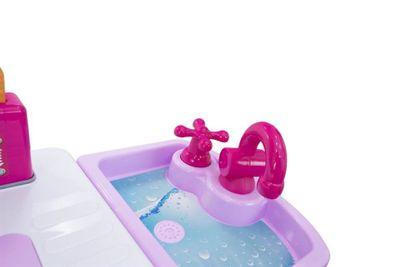 Multifunktionelle Kinderküche Kids Cook pink mit viel Zubehör und Funktionen – Bild 5