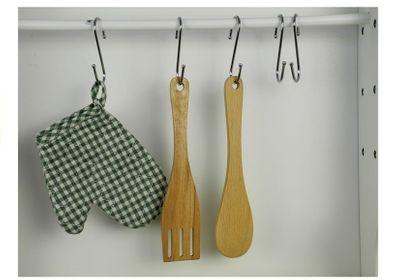 Kinderküche aus Holz Spielküche Kitchen Wood Green – Bild 8