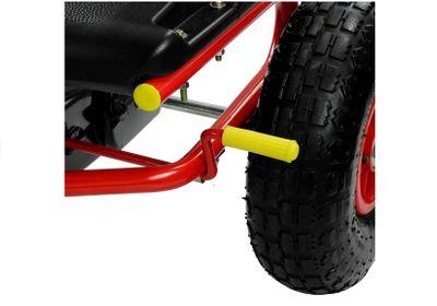 Racing Go Kart Yellow Speed Racer Tretfahrzeug Go Cart – Bild 4