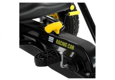 Racing Go Kart White Speed Racer Tretfahrzeug Go Cart – Bild 4