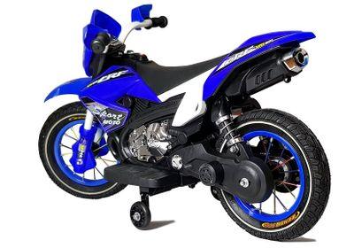 Kindermotorrad Enduro RF SPORTMOTO BLUE Elektromotorrad 6V Kinderfahrzeug elektrisch – Bild 2
