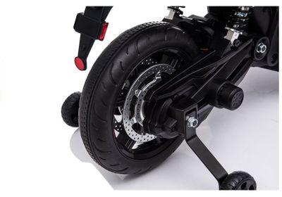 Kindermotorrad APRILIA 900 DORSODURO Black Elektromotorrad 12V Kinderfahrzeug elektrisch – Bild 4