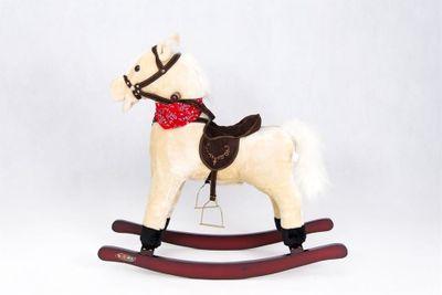 Interaktives Schaukelpferd White Pony – Bild 4