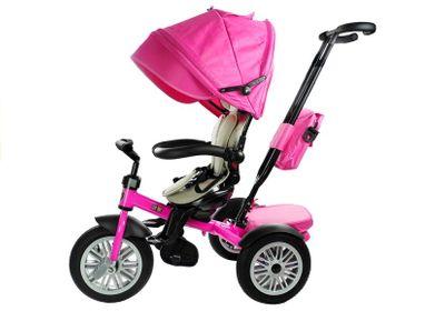 Dreirad Buggy Premium PRO XTRA Pink Edition – Bild 2