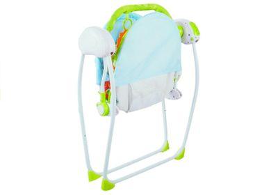 Elektrische Babyschaukel Babywippe klappbar m. Zubehör u. Fernbedienung – Bild 4