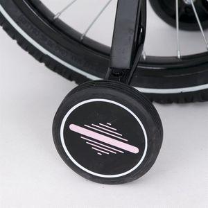 "Kinderfahrrad 16 Zoll ""Tomabike Platinum"" Pink inkl. Fahrradkorb u. Stützrädern – Bild 3"