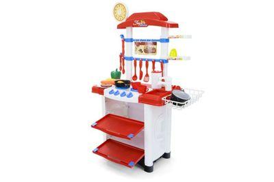 """Multifunktionelle Kinderküche """"My World Super Kitchen"""" mit viel Zubehör und Funktionen – Bild 3"""