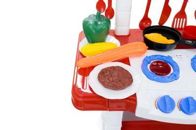 """Multifunktionelle Kinderküche """"My World Super Kitchen"""" mit viel Zubehör und Funktionen – Bild 9"""