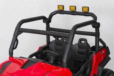 Elektroauto Offroad Speed 24V Allrad 4WD für zwei Kinder Kinderfahrzeug Red – Bild 7