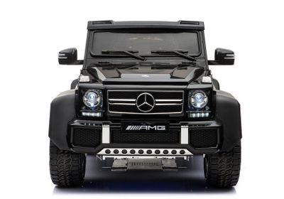 Luxus Kinderauto Mercedes Benz G65 AMG 12V Allrad 6WD black Kinderfahrzeug Elektroauto Kinder – Bild 2