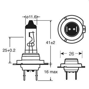 Xenon Max H7  Ring Automotive Scheinwerferlampe 2er Set RW1077 100% mehr Licht – Bild 4