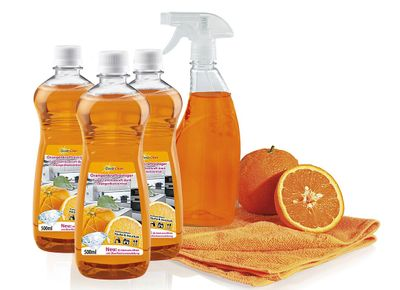 Sauber Power Professional Clever Clean Orangenkraftreinigungs-Set 5-tlg. – Bild 1