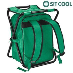 Klappstuhl 3in1 mit Kühltasche und Rucksack – Bild 2