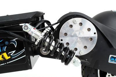 SXT1000 Turbo Elektroscooter 1000 Watt Elektroroller Schwarz – Bild 7