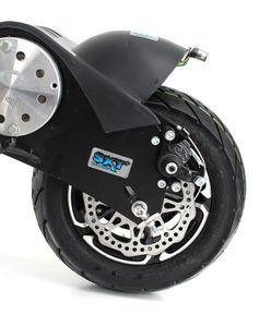 SXT1000 Turbo Elektroscooter 1000 Watt Elektroroller Schwarz – Bild 6