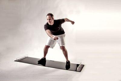 Obsidian Professional Fitnessgerät Slider Exklusiv – Bild 3