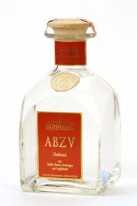 ABZV 0,7l Flasche Obstbrand Original von der Steinwälder Hausbrennerei Schraml