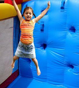 Hüpfburg Mega Slide Happy Hop – Bild 3