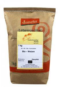 Bio Weizen 4x 1kg - Demeter Bio Weizen Körner Premium Qualität – Bild 1