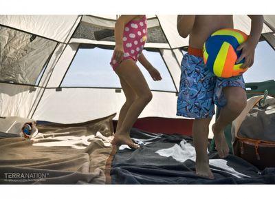 Strandschutz REKA KOHU Strandmuschel in drei verschiedenen Farben – Bild 8