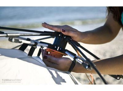 Strandschutz REKA KOHU Strandmuschel in drei verschiedenen Farben – Bild 9