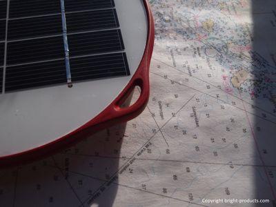 SunTurtle Br!ght Solar-Leselampe in drei versch. Farben – Bild 4