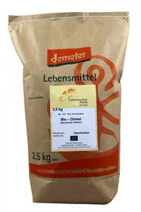 Bio-Dinkel Demeter Bio Dinkel Körner 3x 2,5kg – Bild 1