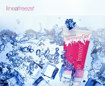 LineaFreeze Luxury Slimming Gel mit Kälteeffekt Anticellulitegel – Bild 2