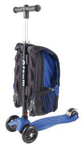 Maxi Micro 4in1 Kickboard mit Rucksack für Kinder - blau – Bild 2