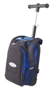 Maxi Micro 4in1 Kickboard mit Rucksack für Kinder - blau – Bild 5