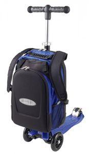 Maxi Micro 4in1 Kickboard mit Rucksack für Kinder - blau
