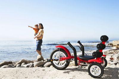 "MOBO Cruiser ""Mini"" Liegefahrrad Kinderdreirad - Liegerad Rot – Bild 8"