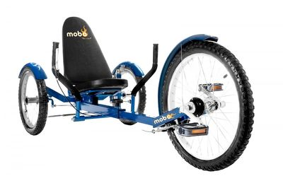 "MOBO Cruiser ""Triton Pro"" Liegefahrrad Dreirad - Liegerad Blau – Bild 1"