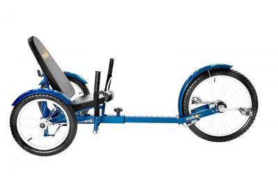 "MOBO Cruiser ""Triton Pro"" Liegefahrrad Dreirad - Liegerad Blau – Bild 3"
