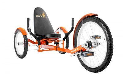 "MOBO Cruiser ""Triton Pro"" Liegefahrrad Dreirad - Liegerad Orange – Bild 1"