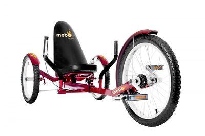 "MOBO Cruiser ""Triton Pro"" Liegefahrrad Dreirad - Liegerad Rot – Bild 1"