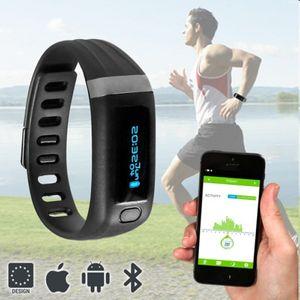 Bluetooth Fitness Tracker Fitnessarmbanduhr – Bild 3